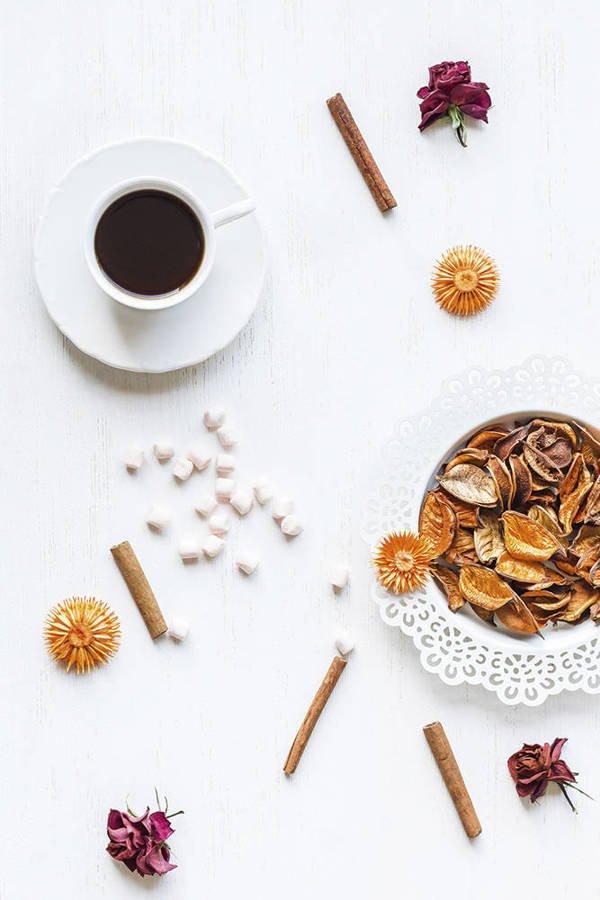 Cynamon i kawa